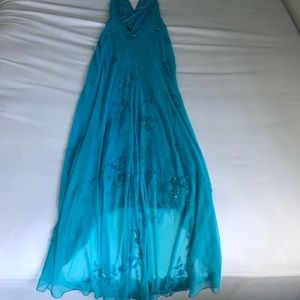 Boutique Hand Beaded Prom Dress